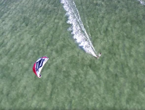 Kitesurfing in Morocco